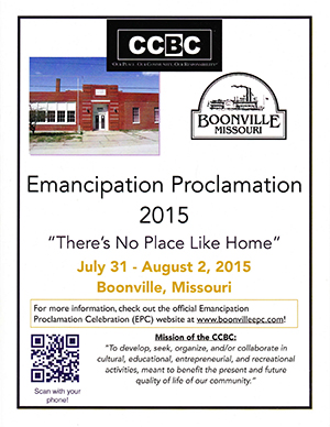 Emancipation Proclamation Celebration 2015 booklet cover
