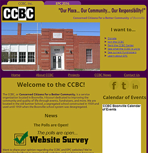 Concerned Citizens for a Better Community website